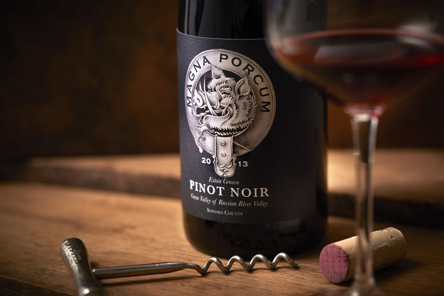 AlanCampbellPhotography, Camlow Cellars Big Pig Estate Pinot Noir