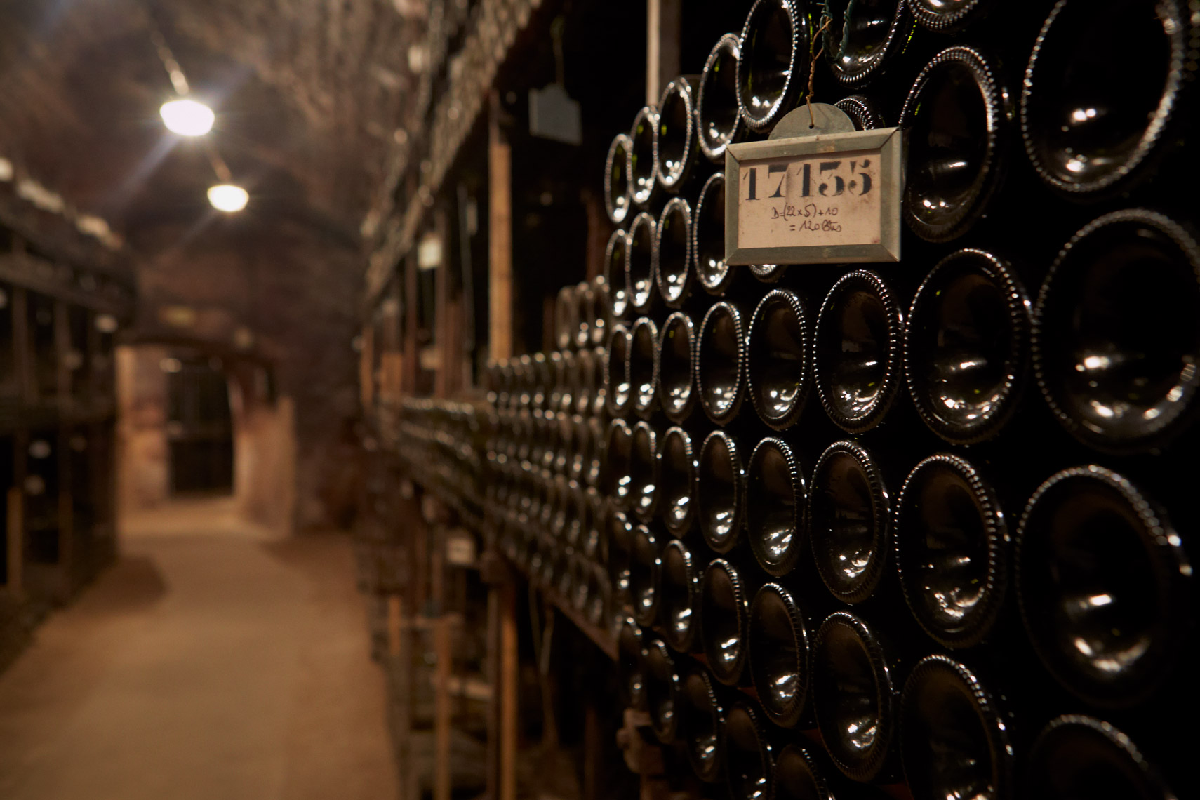 AlanCampbellPhotography. Cellar of Bouchard Pere Fils in the wall of Beaune