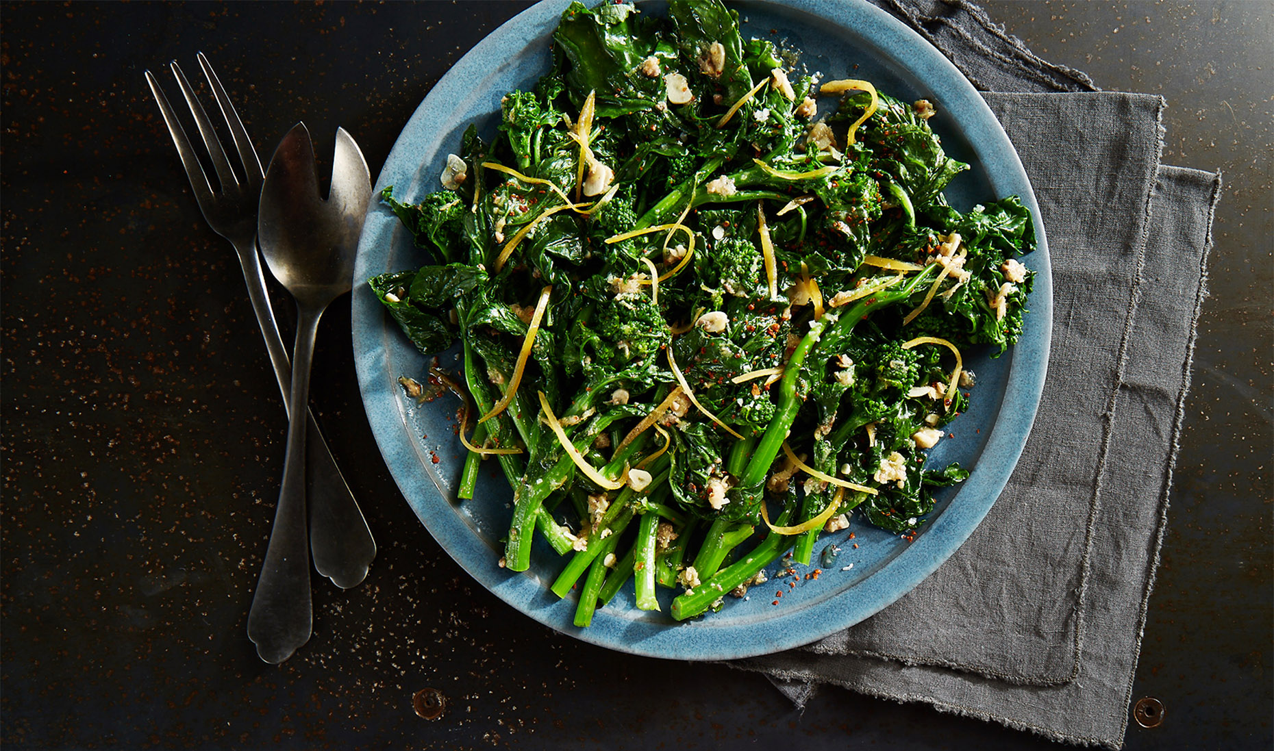 AlanCampbellPhotography, Broccoli Rabe recipe SeasonCookbook