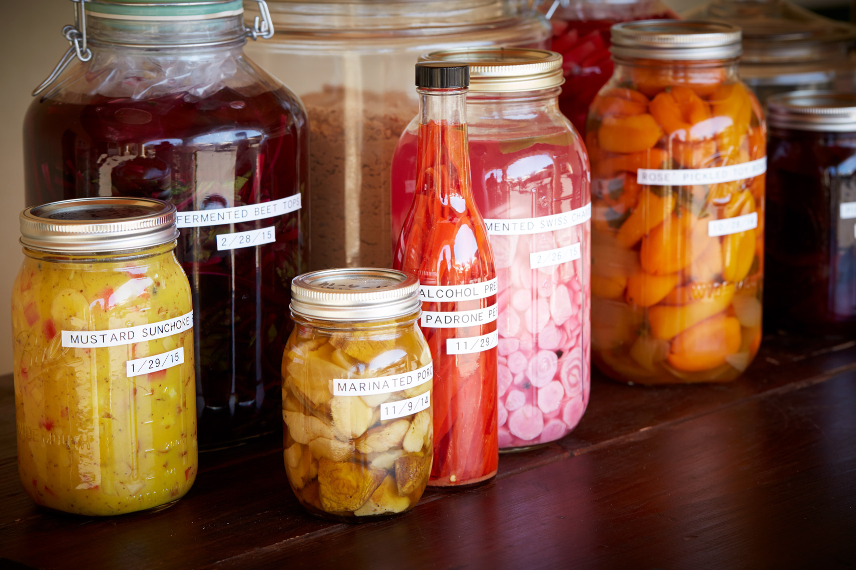 AlanCampbellPhotography, fermenting jars all the rage