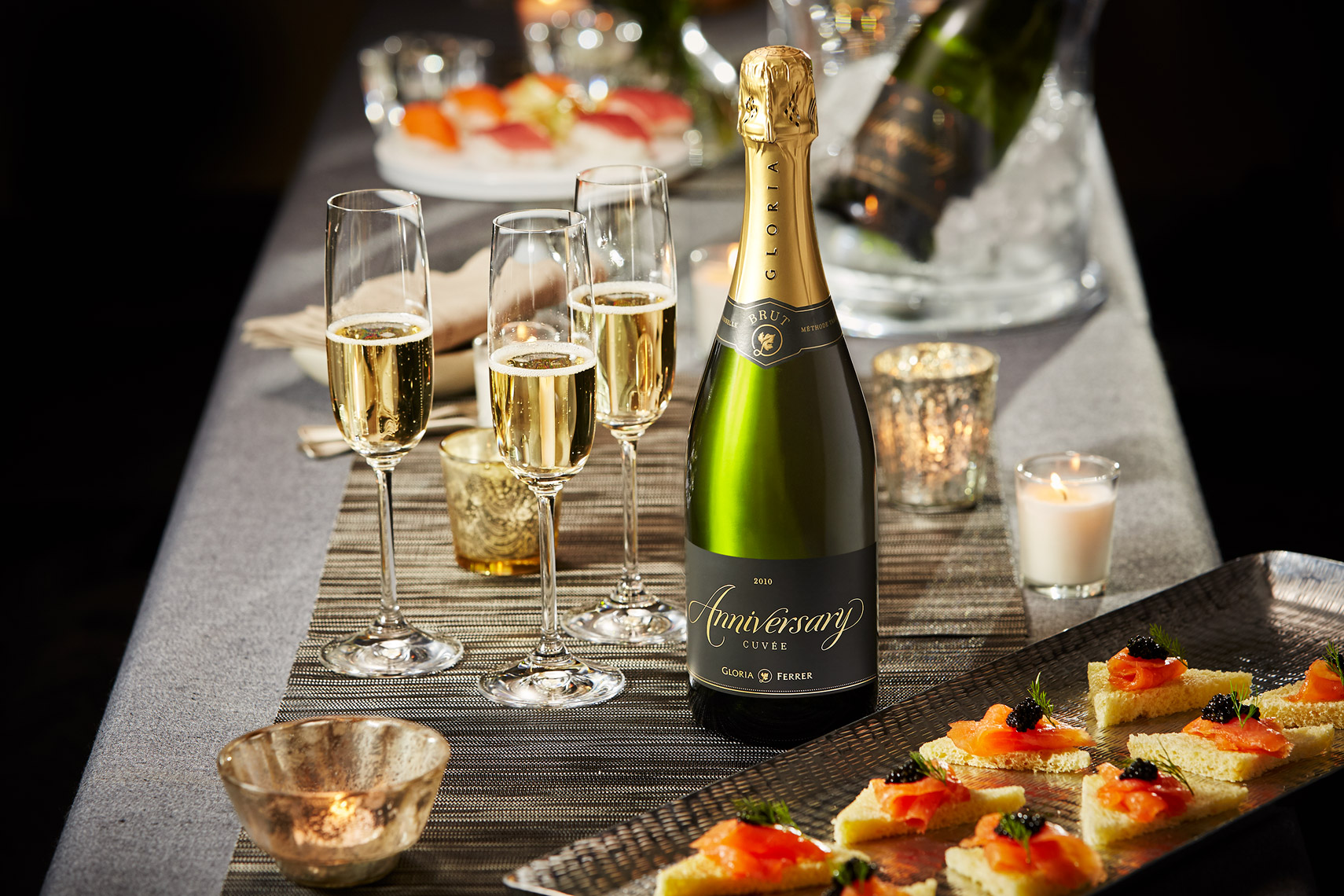 AlanCampbellPhotography, Anniversary Cuvee from Gloria Ferrer
