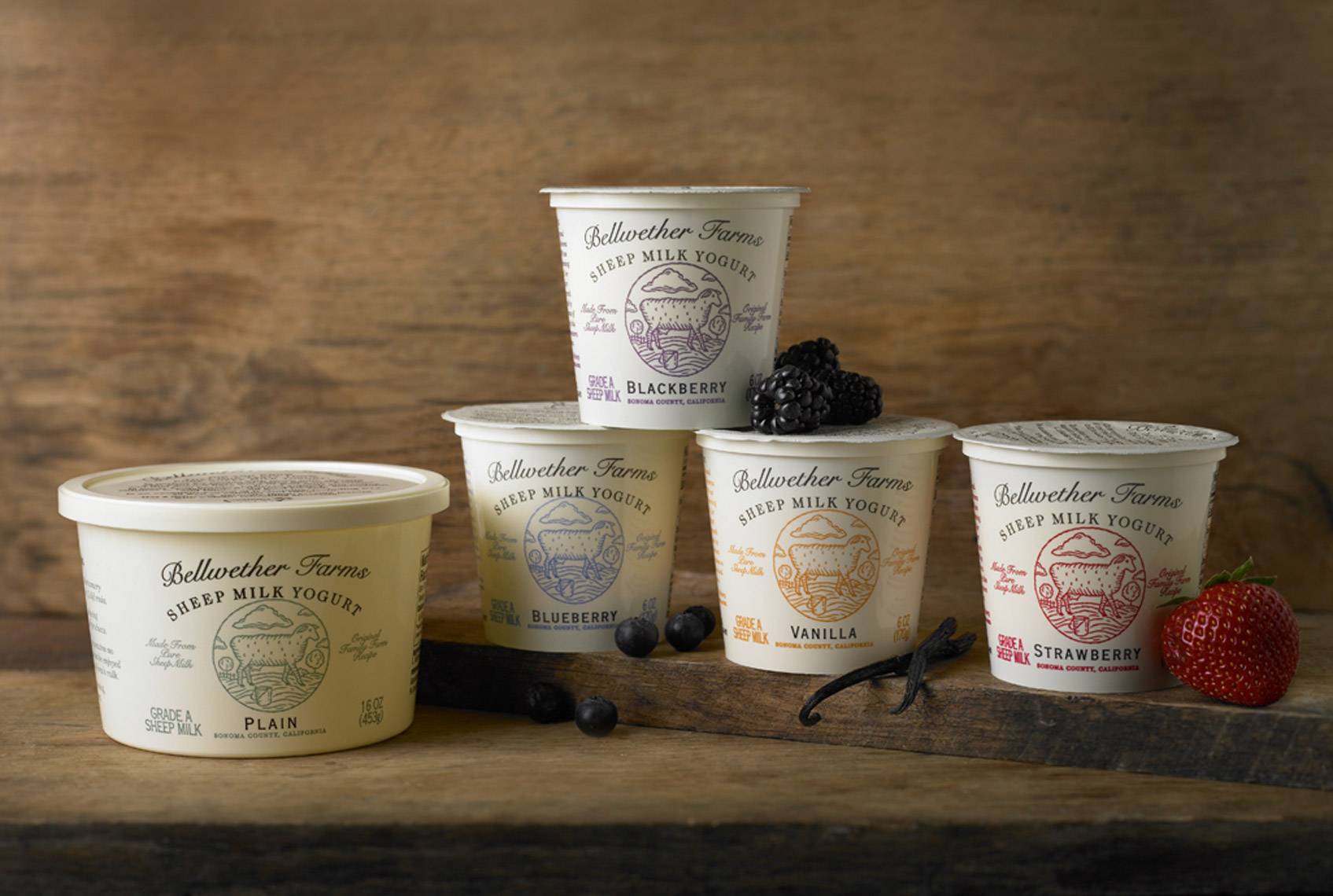 AlanCampbellPhotography, Bellwether Farms Yogurts family shot
