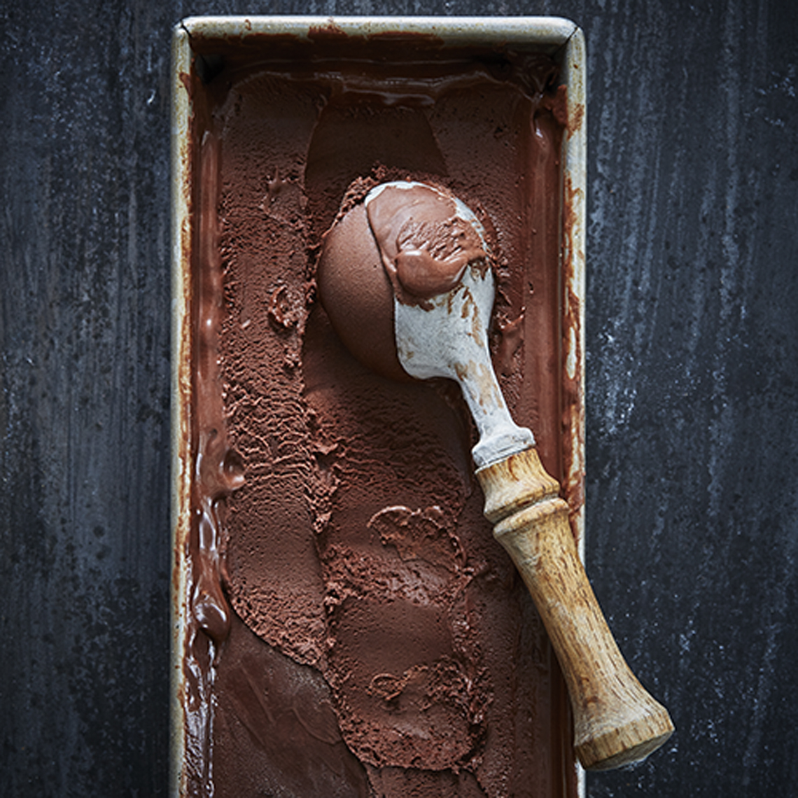 AlanCampbellPhotography, ice cream shot from Season Cookbook