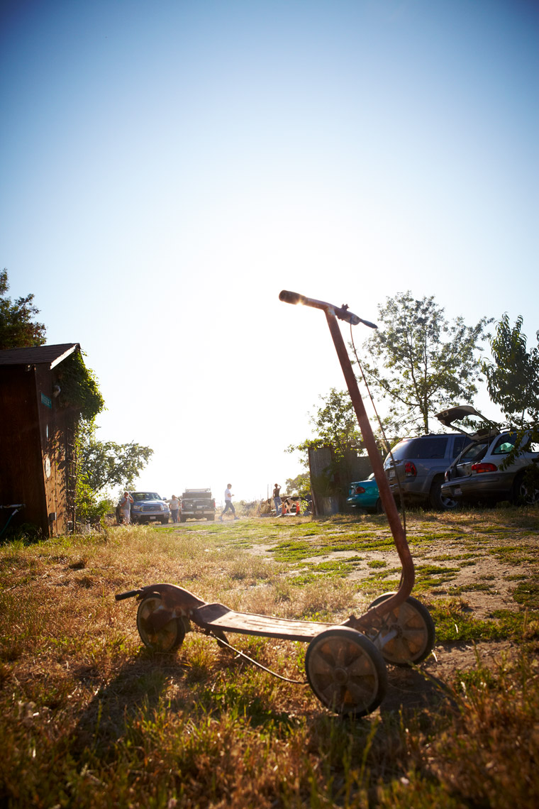 AlanCampbellPhotography, old farm Scooter rusty vintage