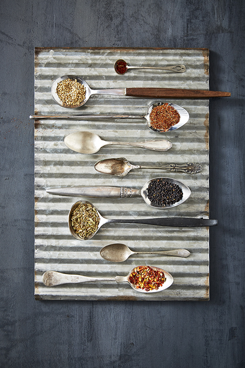 AlanCampbellPhotography, Spices in spoons