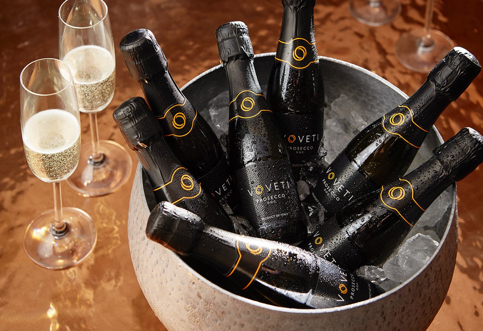 AlanCampbellPhotography, Volveti Ice bucket Prosecco party