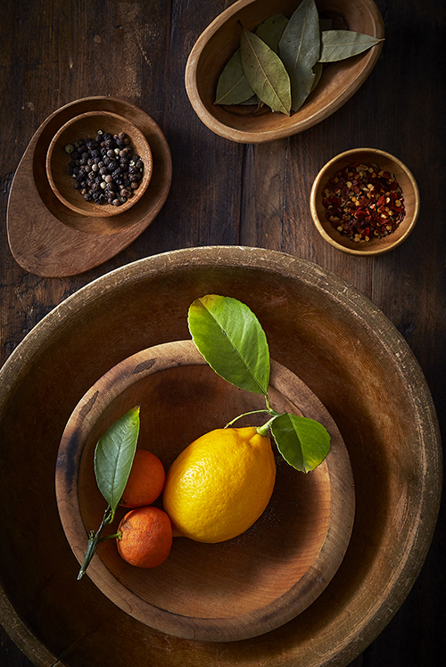 AlanCampbellPhotography, Wood and citrus still life