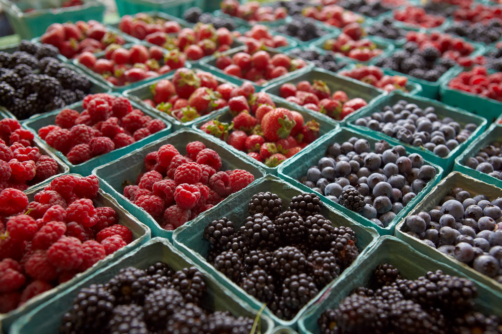 AlanCampbellPhotography, variety of fresh berries